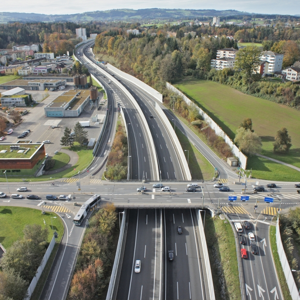 Luzern Bypass Project